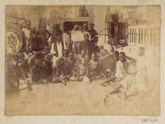 Slaves on HMS 'London' - National Maritime Museum