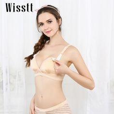 2ed00c17c Wisstt Maternity nursing bra Women Underwear Cotton Nursing Maternity Bra  Wire Breast Feeding Bra Prevent Sagging