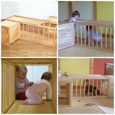 Labirinto para os pequeninos engatinharem e se divertirem muito!