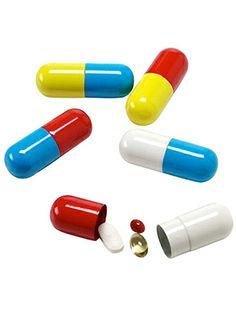pill shaped pill holder