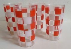 Vintage d,rinking glasses Vintage Cocktails, Shot Glass, 1950s, Drinking, Pots, Coffee, Glasses, Google Search, Tableware