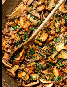 Fresh and Wild Mushroom Stew