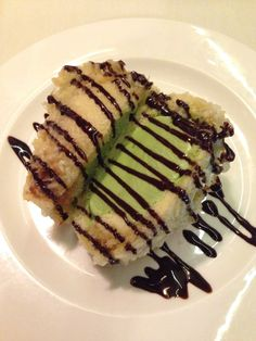 Fried Green Tea Ice Cream