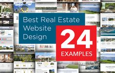 The Best Real Estate Website Designs of 2014. See Some of The Best Sites From Realtors and Real Estate Companies: https://placester.com/real-estate-marketing-academy/real-estate-website-sign-24-best-examples/