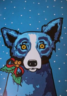 blue dog  Saying goodbye to a Louisiana Legend - Susie Harris