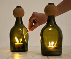 Nino Candle Holder by Lucia Bruni