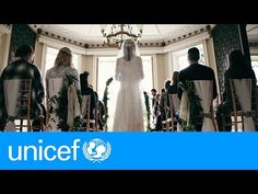 "UNICEF ""A storybook wedding - except for one thing""."