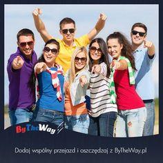 Serdecznie <3 Zachęcamy do dodawania wspólnych przejazdów do serwisu ByTheWay.pl . Większa ilość przejazdów to więcej do wyboru dla potencjalnych pasażerów a jednocześnie większe #oszczędności :)