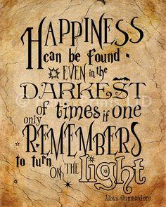 Regalo Harry Potter cita Albus Dumbledore por FancyPrintsforHome