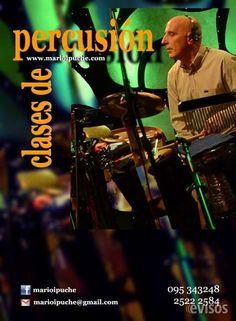 CLASES DE PERCUSION - MARIO IPUCHE - 095 343 248  Clases de Percusión ofrecidas por Mario Ipuche,  ..  http://montevideo-city.evisos.com.uy/clases-de-percusion-mario-ipuche-095343248-id-283292