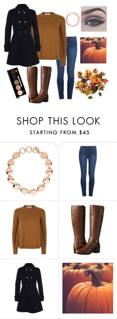 """""""Autumn is here"""" by andreat-0313 ❤ liked on Polyvore featuring Links of London, Paige Denim, Valentino, Bandolino, Miss Selfridge, Bellezza, Improvements and Bobbi Brown Cosmetics"""