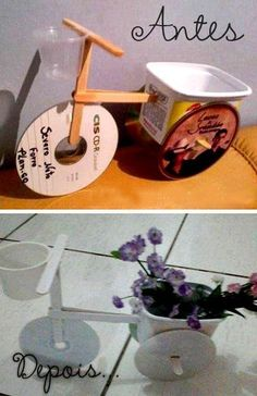 Resultado de imagen para manualidades con cd reciclados