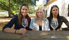 Laura, Jenna and Lee-Anne do a spot of tasting while visiting Babylonstoren. Cape Dutch, Signature Cocktail, High Tea, Cape Town, Wine Tasting, Plate, Pure Products, Beauty, Gourmet