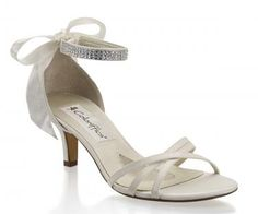 Gorgeous kitten heel with sparkle ankle strap by Coloriffics