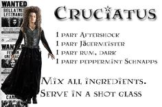 Wizarding Drinks - Cuciatus (This will only give you a bad night)