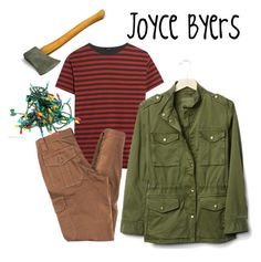 """""""Joyce Byers costume"""" by adinatalex on Polyvore featuring R13, Trina Turk and Gap"""
