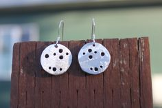 Small Round Moonlight Earrings, by Cindy Larson Accessories
