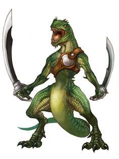 Lizardman Ilustrador: Itouyouichi