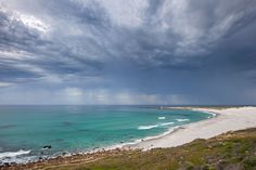 Rain clouds gather over the Atlantic Ocean at Crayfish Factory, Witsands, in the South Peninsula of Cape Town - Sally Wellbeloved Interior & Fine Art Photography Canvas Art, Canvas Prints, Rain Clouds, Fine Art Photography, Sally, Africa, Waves, Ocean, Turquoise