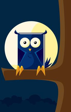 'Book Owl' by Franchie