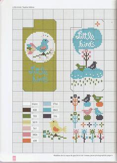 Iphone cross stitch case primavera