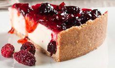 Receita de Torta de amora com iogurte - Torta doce - Dificuldade: Médio - Calorias: 533 por porção