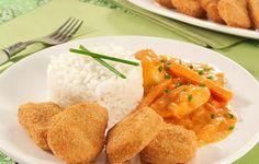 Empanados Nuggets® com Strogonoff de Legumes