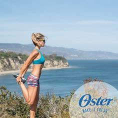 How does a fitness model and triathlete mom stay in shape and motivate her family to lead a healthy and active lifestyle? Angi Greene has some easy fitness tips for you to check out. #OsterKitchen *Angi Greene has been compensated for her time and provided with Oster® products.
