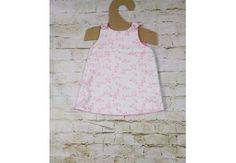 Reversible baby dress Petit Fleur ORGANIC COTTON & Bamboo