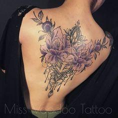 Las 36 Mejores Imágenes De Tatuajes En La Espalda Para Mujeres En