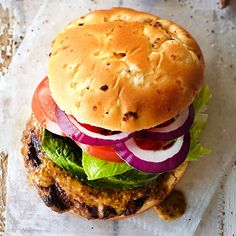 Take backyard burgers from monotonous to memorable with these easy-to-make burger relishes, burger toppers, and meat marinades. It's not just about beef burgers, either. Check out our recipes for chicken burgers, turkey burge
