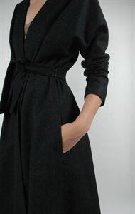 harvey faircloth wrap coat.