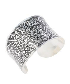 Take a look at this Silver Tradition Engraved Cuff by MyMela on #zulily today!