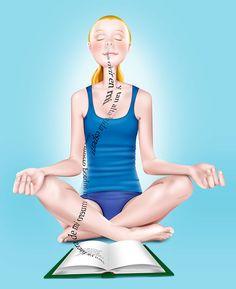 Mètodes de lectura. Métodos de lectura. Yoga. By Carme Badia