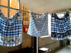 Dutch tea towels, Neighborhood Food Market, Westergasfabriek, Amsterdam