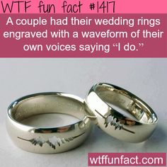 best idea for wedding rings WTF FUN FACTS HOME / SEE MORE tagged/awesome FACTS