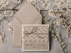 Custom Listing 20 Invitations Wedding By Forlovepolkadots On Etsy. Shabby  Chic ...
