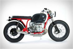 Bmw R75/6 | By Maria Riding Company As always, Maria does an amazing job with their color scheme