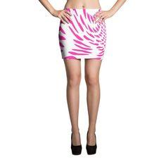 Swirled Hearts Mini Skirt