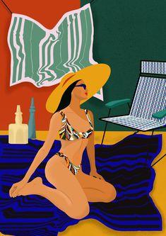 Illustration Deborah Desmada Portrait Céramiques