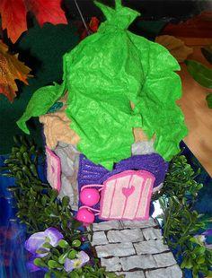 Handmade Blank Fairy House.