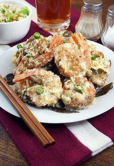 A delicious and exotic twist on creamy butter shrimp! Shared via http://www.ruled.me/