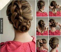 Auch dünne Haare können voll aussehen!!♥                                                                                                                                                                                 Mehr