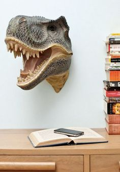 This dinosaur wall mount is perfect for any Jurassic Park fans!