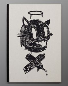 "DXTR ""9 Lives"" sketchbook for The Dudes"