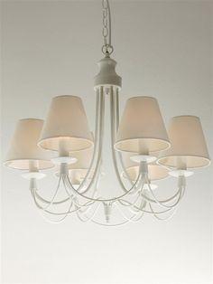 Lámpara de techo forja blanca - Etxearte