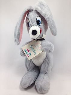 Animal-Fair-By-George-Barnaby-Bunny-Rabbit-Vintage-Collectors-Stuffed-Plush-13
