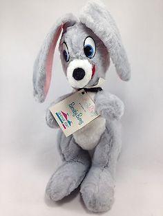 Animal-Fair-By-George-Barnaby-Bunny-Rabbit-Vintage-Collectors-Stuffed-Plush-13