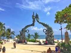 Mexico Real Estate, Statue Of Liberty, Places To Visit, Travel, Animals, World, Playa Del Carmen, New York City, Destinations