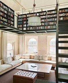 Mezzanine bibliothèque                                                                                                                                                                                 More